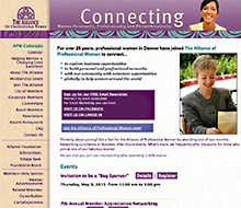 Alliance of Professional Women (APW) website