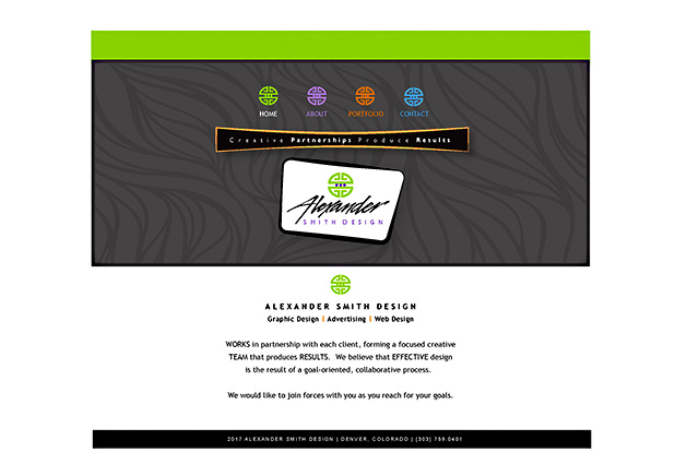 Original Alexander Smith Design Website