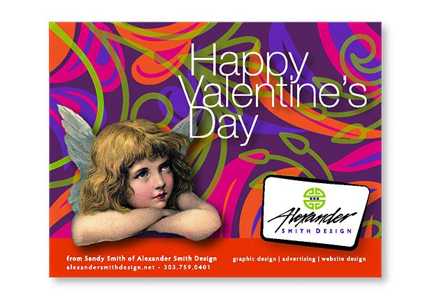 Valentines Day Illustration Greeting Card