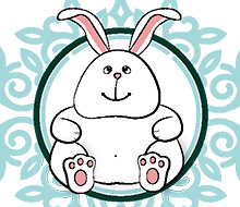 Bunny Illustration Greeting