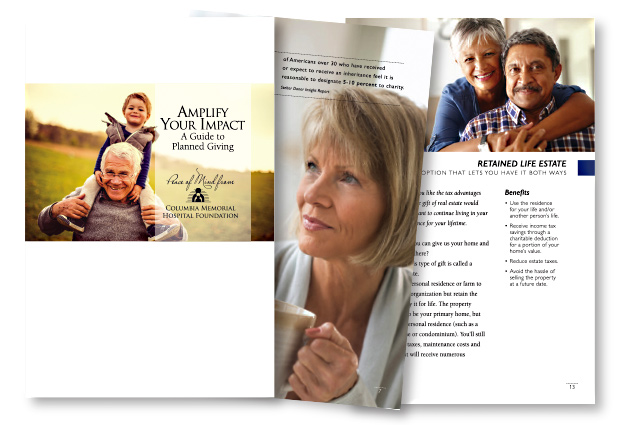 Columbia Memorial Hospital Foundation Amplify Your Impact brochure