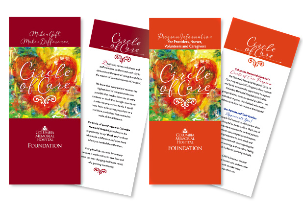 Columbia Memorial Hospital Foundation Circle of Care Brochures