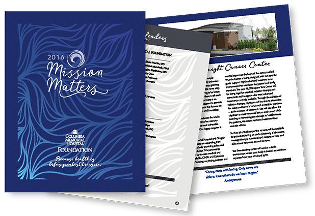 Columbia Memorial Hospital Foundation Annual Report