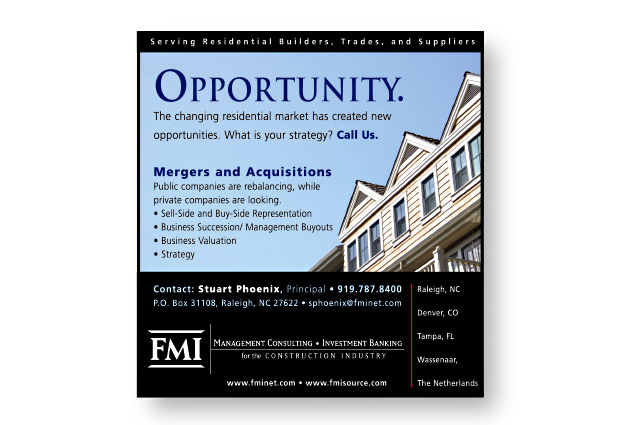 FMI Corporation Ad