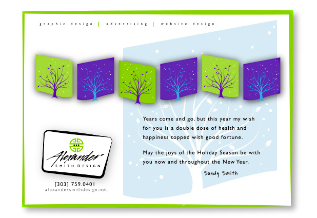 Alexander Smith Design Holiday Greeting