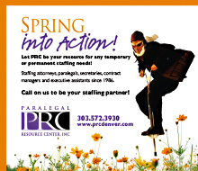 Paralegal Resource Center Spring Ad
