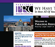 Paralegal Resource Center Website