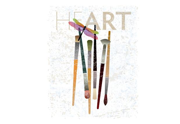 Heart of Painting Illustration