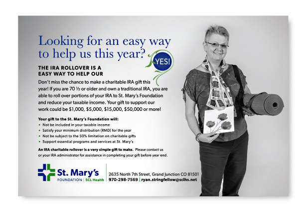 St. Mary's Hospital Foundation Ad