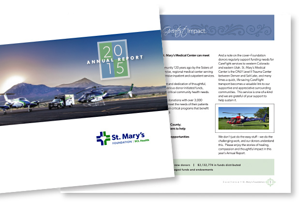 St. Mary's Hospital Foundation Annual Report 2015