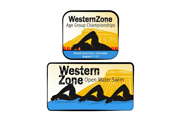Western Zone Open Water Swim Logo