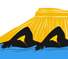 Western Zone Open Water Swim Logo